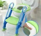 Внешний вид - Toddler Toilet Chair Kids Potty Training Seat with Step Stool Ladder