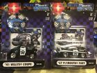 Muscle Machines 1:64 Police Dept. • '41 Willys Coupe & '57 Plymouth Furi