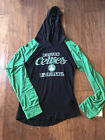 NBA Boston Celtics Girl's Black & Green Hoodie Pullover Shirt XS/S/M/L/XL on eBay