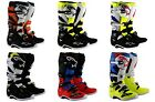 Alpinestars Tech 7 MX Boots Black/White SHIPS FREE