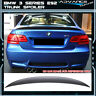 07-13 3 Series E92 ABS Trunk Spoiler Painted Sparkling Graphte Metallic