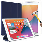 For iPad 10.2 inch 2019 7th Generation Gen Case Cover+HD Glass Screen Protector