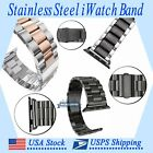 Stainless Steel Wrist Strap For Apple Watch Series 4/3/2/1 iWatch Band 38/42mm
