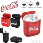 Premium Coca-Cola AirPods Silicone Case Apple Android £3.99  on eBay