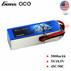 Gens ace 5000mAh 18.5V 45C 5S Lipo Battery Deans T Plug For Heilcopter Airplane