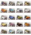 Coverlet Set Quilted Decorative Bedspread with Pillow Shams Bed by Ambesonne image