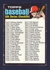 1971 TOPPS PICK YOUR CARD COMPLETE YOUR SET 274-504 VG TO NRMTBaseball Cards - 213