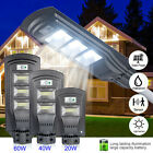 LED Solar Dimmable Wall Street Light PIR Motion Sensor Outdoor Garden Lamp