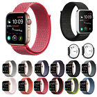 Woven Nylon Band For Apple Watch Sport Loop Watch Series 5 4 3 2 1 38/42/40/44mm image