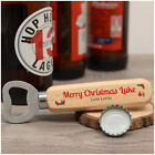 PERSONALISED Bottle Opener Christmas Gifts for Him Dad Son Uncle Boyfriend Men