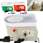 350W 110V Electric Pottery Wheel Ceramic Machine 25CM Work Clay Art Craft DIY image