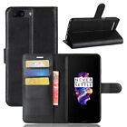 For Oneplus 5 5T Wallet Leather Card Pocket Flip PU Case Cover