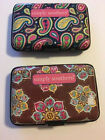 Simply Southern Plastic Security Wallet ID Case Credit Cards Paisley Flower NEW image