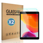 For iPad 10.2 7th Gen/9.7 6th/5th/Air Pro Clear Tempered Glass Screen Protector