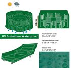 Garden Patio Furniture Cover Set Waterproof Rectangle Outdoor Table Chair Lounge