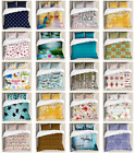 Ambesonne Pillow Shams Bedding Sets with Duvet Cover Set King Queen Twin Sizes image