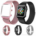 For iWatch Apple Watch Band 38/42/40/44mm Series 5 4 3 Women Men Strap Wristband image