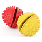 Natural Rubber Dog IQ Treat Ball Durable Pet Tooth Cleaning Toy for Chewing