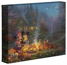 Kyпить Thomas Kinkade Studios Disney 8 x 10 Gallery Wrapped Canvas (Choice of 4) на еВаy.соm