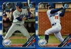 2019 BOWMAN DRAFT CHROME BLUE REFRACTOR #/150 ROOKIE RC SINGLES - YOU PICKBaseball Cards - 213
