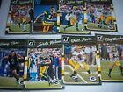 2016 Donruss Aaron Rodgers/Brett Favre with rookie lot Green Bay Packers
