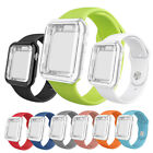 38/42/40/44mm Sport iWatch Band Strap With Full Body Case for Apple Watch 5 4 3 image