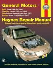 Haynes Manual for Buick Regal, Chevy Lumina, Cutlass Supreme & Grand Prix picture