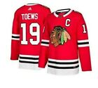 Authentic Adidas NHL Chicago Blackhawks #19 Hockey Jersey New Mens Sizes $59.99 USD on eBay