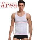 Men Body Slimming Tummy Shaper Underwear shapewear Waist Girdle Shirt Vest Shirt