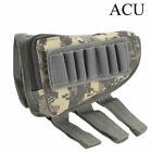 Rifle Buttstock Pack Bag Cheek Pad Rest Shell Mag Ammo Pouch Pocket Holder USWC