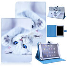 "Universal Print Leather Stand Folding Case Cover For 9.7"" 10"" 10.1"" Inch Tablet"