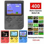 3'' Built-in 400 Games 8 Bit Handheld Retro FC Game Console Video...