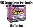 2019 Bowman Chrome Draft Sapphire Refractor Pick Your Card QTY Avail FREE SHIP on Ebay