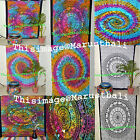 Mandala Indian twin Decor Tapestry Wall Hanging Hippi Throw lamp Ombre Bedspread