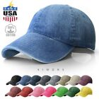 Dyed Washed Cotton New Plain Polo Style Baseball Ball Cap Hat Dad 2 Two Tone $9.99 USD on eBay