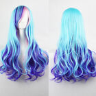 WOMENS 28 FULL LONG FANCY DRESS WIGS CURLY WAVY COSPLAY COSTUME LADIES PARTY