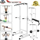 Power Tower Dip Station W/Bench Bar Adjustable Pull UP Bar Station Home Gym for sale  Shipping to Nigeria