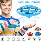 Mini Drone Infrared Sensor UFO Flying Toy Induction Aircraft Quadcopter for Kids