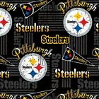 Pittsburgh Steelers Fabric by the Yard, by the Half Yard, NFL Cotton Fabric, Ret $9.5 USD on eBay
