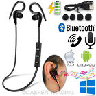 Wireless Bluetooth Earphones Gym Sports Headphones Headset For iPhone Samsung UK