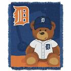 Officially Licensed Mlb Field Bear Baby Woven Jacquard Throw Blanket, Soft  Coz on Ebay