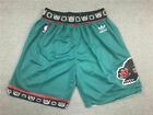 New Vancouver Grizzlies Green Shorts Men's Pants Stitched Size S-XXL NWT