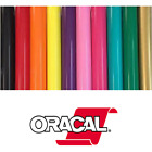 "Oracal 651 Permanent Self Adhesive Craft Vinyl 24"" x 30ft and 50ft Roll s"