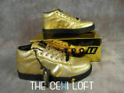 Mens VLADO Sneaker Shoes SPECTRO in SHINY GOLD Casual Dress