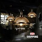 E27 Loft Retro Industrial Glass Vintage Ceiling Light Chandelier Pendant Lamp US