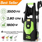 3500 PSI 2.80 GPM Electric Pressure Washer High Power Auto Water Cleaner Machine