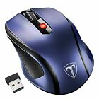 2.4GHz 2400 DPI Wireless Optical Mouse Mice + USB Receiver for PC Laptop MAC USA