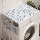 Ambesonne Nursery Theme Washing Machine Organizer Cover for Washer Dryer