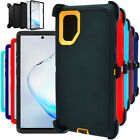 For Samsung Galaxy Note 10 10 Plus Hard Case Cover w/Clip Fits Otterbox Defender