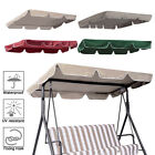 "Outdoor Swing Top Cover Canopy Replacement 300D Garden 66""x45"" 75""x52"" 77""x43"""